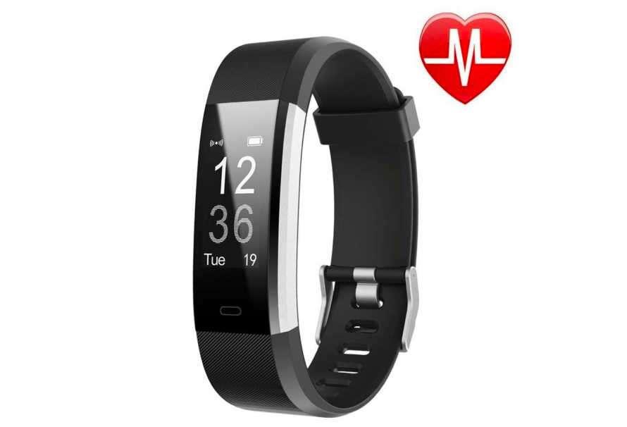 Comprar LETSCOM Fitness Tracker HR: la pulsera del futuro ya está aquí