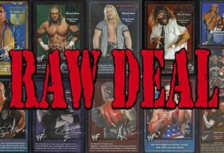 Conoce Raw Deal TV, el proyecto que busca resucitar al mejor juego de cartas lucha libre