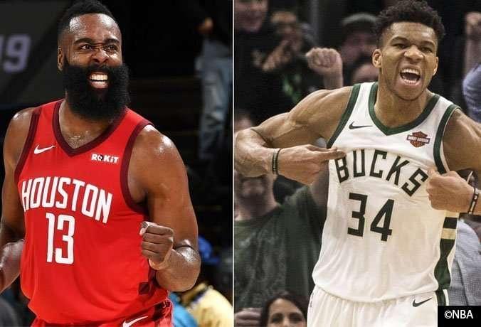 NBA: ¿El griego o la barba para MVP?