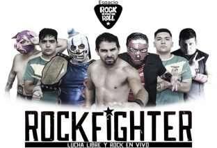 Rockfighter: el evento que combina lucha libre y rock en vivo
