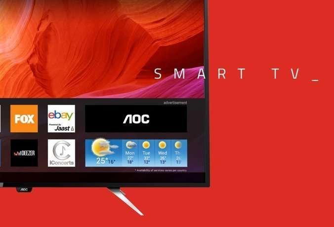 Review de AOC Smart TV 4K UHD de 55""