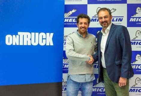 Michelin firma una alianza con Ontruck para ofrecer ventajas exclusivas a sus más de 3.000 transportistas