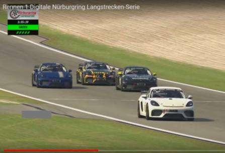 Giti Tire en el TOP-10 de la carrera virtual organizada tras la suspensión de la competición en Nürburgring