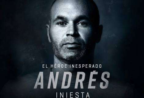 Rakuten TV revela la fecha de estreno de su nuevo documental original, Andrés Iniesta – El héroe inesperado