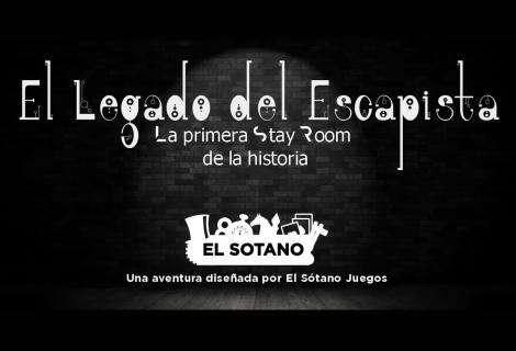 """""""El Legado del Escapista"""", la primera Stay Room de la historia"""