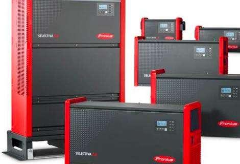 Fronius lanza Selectiva 4.0, una nueva generación de cargadores de batería