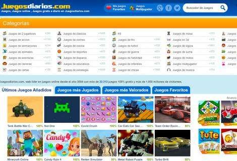 La web histórica de Juegos online Juegosdiarios.com incrementó sus visitas en más de un 50% por el COVID-19