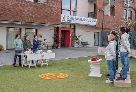 MasterChef rinde un homenaje a la Fundación Infantil Ronald McDonald con un cocinado solidario