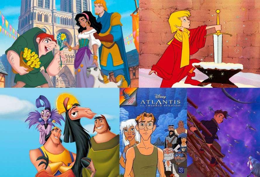 Las 5 películas animadas más infravaloradas de Disney