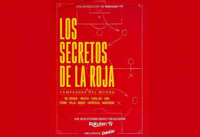 Rakuten TV estrena su nueva producción original Los secretos de La Roja – Campeones del Mundo