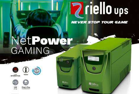 Net Power Gaming: la serie de SAI específica para gamers de Riello UPS