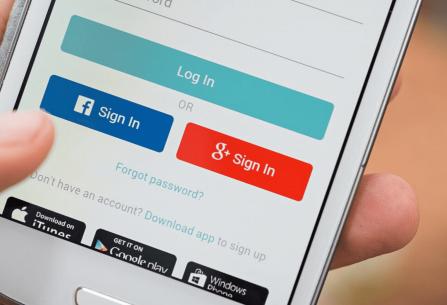 El precio que pagamos por iniciar sesión con Facebook o Google en las aplicaciones