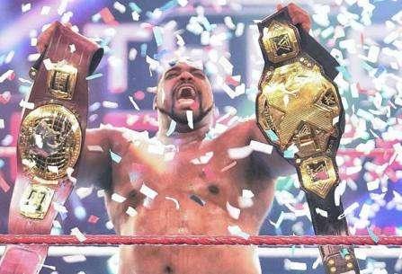 ¡Keith Lee es doble campeón de NXT!