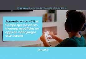 Qustodio elabora un análisis del uso que hacen los menores españoles de los videojuegos