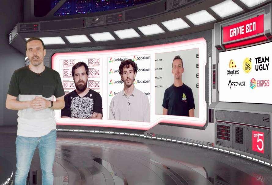 GameBCN retransmite en directo el cierre de su V edición con 5 nuevos videojuegos