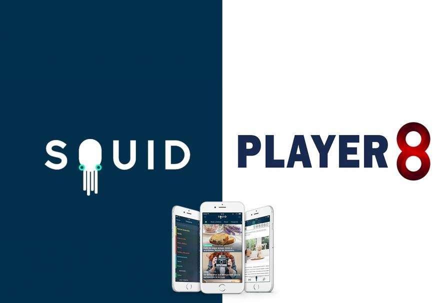 Squid y Player 8 firman convenio de colaboración