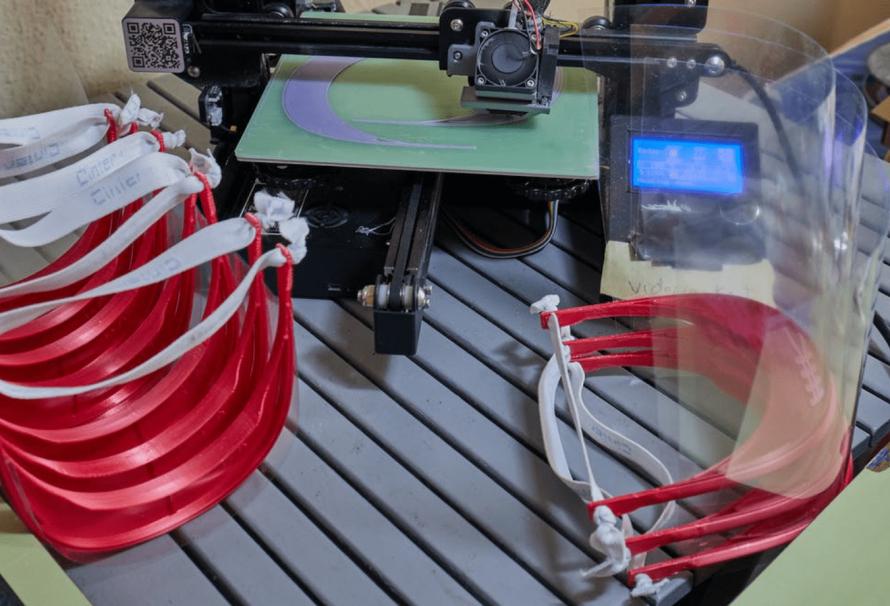 Las posibilidades de la impresión 3D para luchar contra la segunda ola de COVID-19