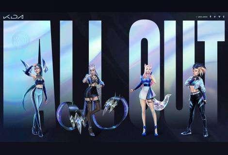 K/DA, el grupo pop de League of Legends, revela su primer EP, All Out
