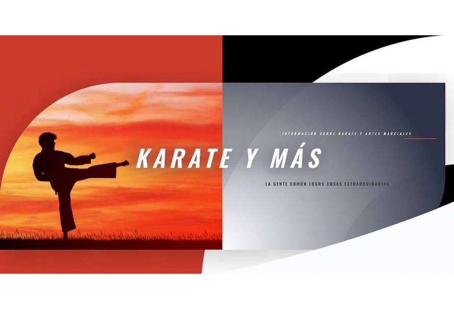 Karate y Más, el sitio web que centraliza información sobre Karate, Artes Marciales y Defensa Personal