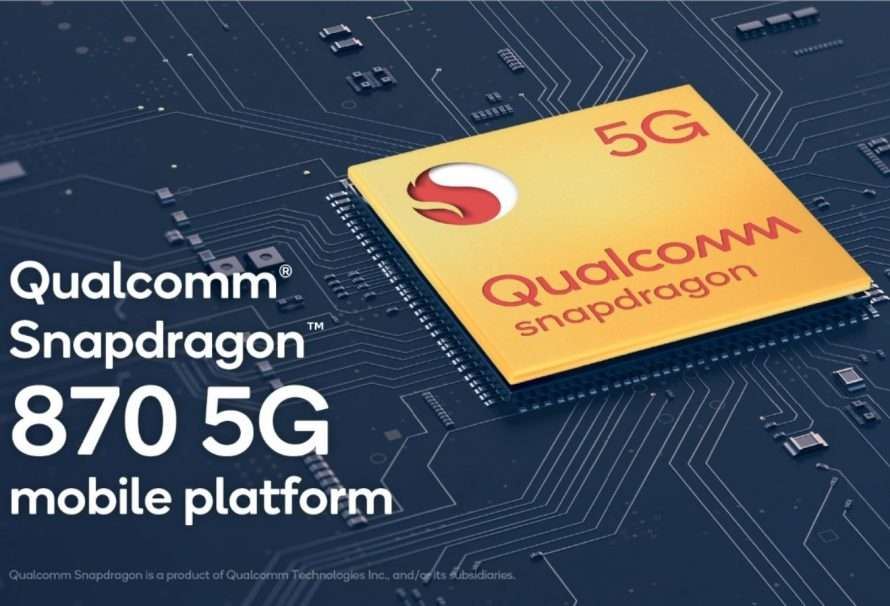 Qualcomm anuncia la plataforma móvil Snapdragon 870 5G