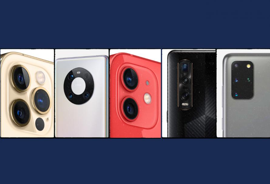 Top 5: ¿cuáles son las mejores cámaras de móviles?