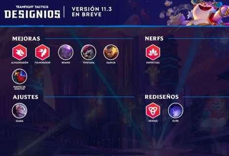 Actualizaciones para la versión 11.3 de Teamfight Tactics