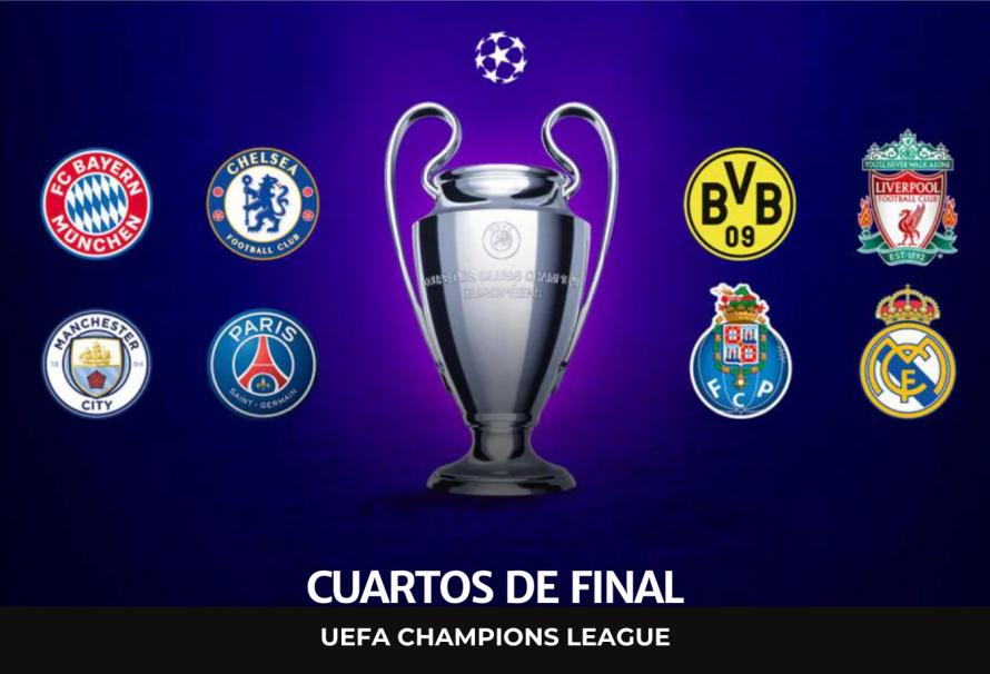 Champions League 2021: resultados del sorteo para los cuartos de final