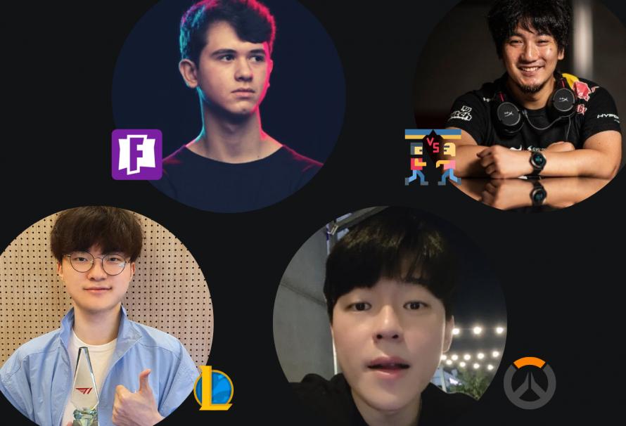 Los mejores players de cada juego competitivo 2021