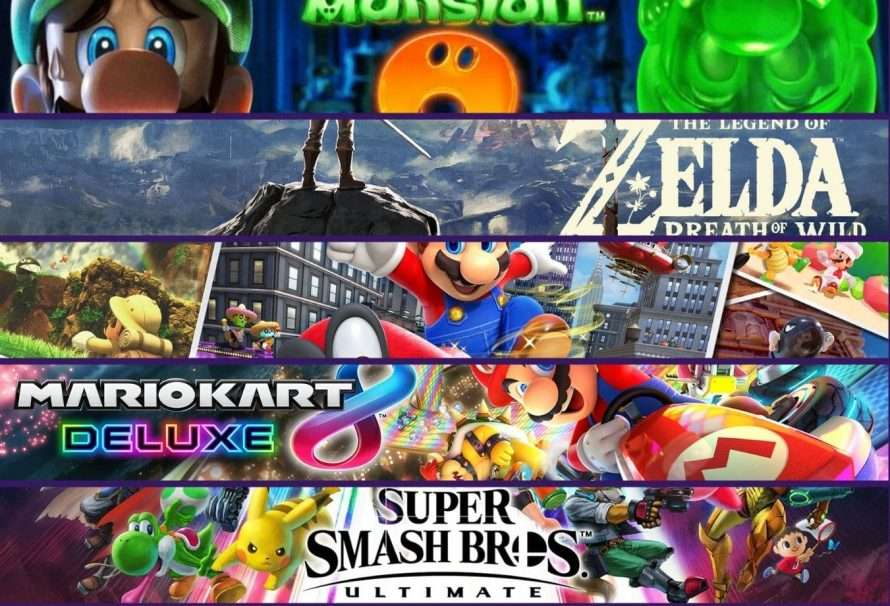 Los mejores 5 juegos de Nintendo Switch en marzo de 2021