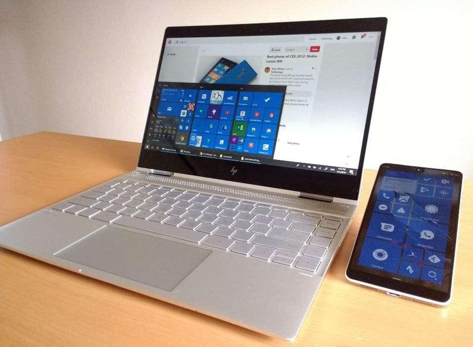 Android y Windows 10