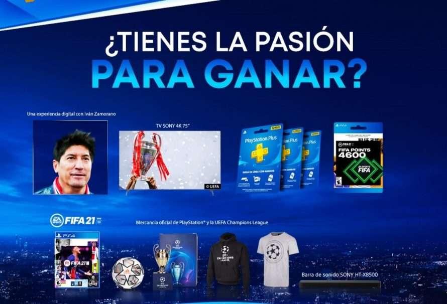 PlayStation hace un concurso para jugar con Iván Zamorano