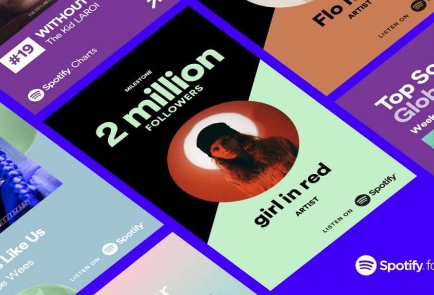 """Spotify amplía las """"Tarjetas Promocionales para artistas"""""""