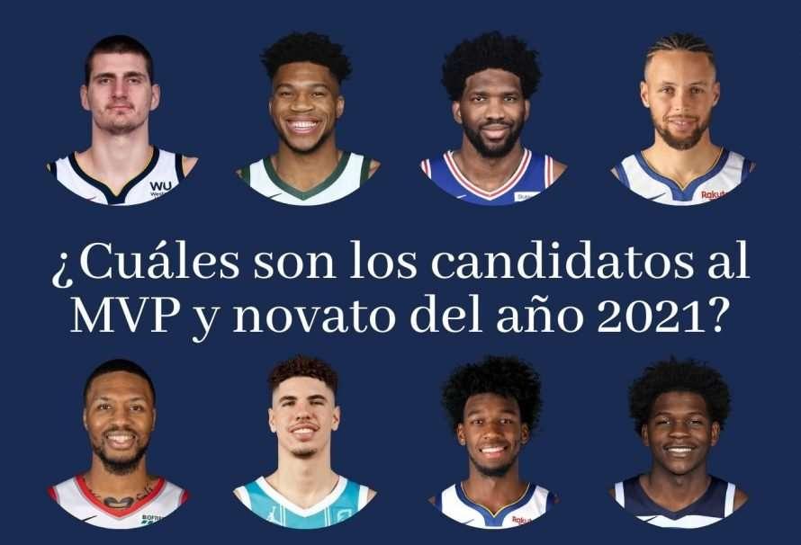 ¿Cuáles son los candidatos al MVP y novato del año 2021?