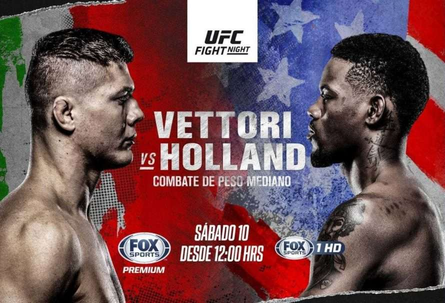 "UFC Figth Night: debut de ""La Jaula"" y duelo entre Vettori vs Holland"