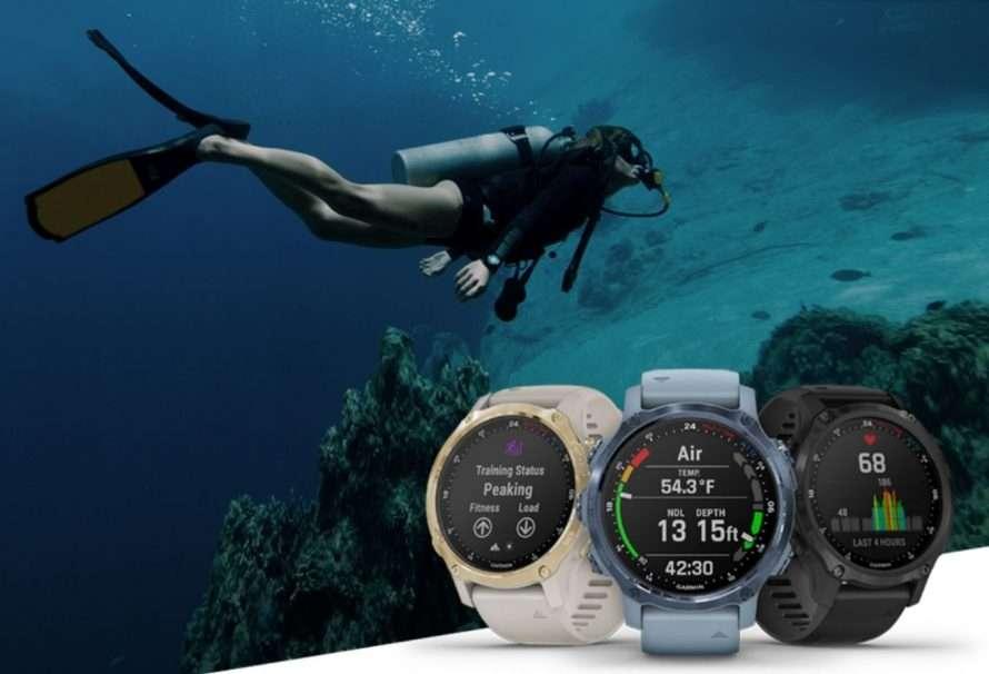 Descent Mk2S: nuevo accesorio de buceo de Garmin