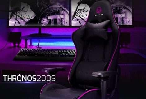 Thrónos200S: la nueva silla gamer de PRIMUS