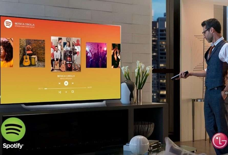 Spotify Video está disponible en televisores LG