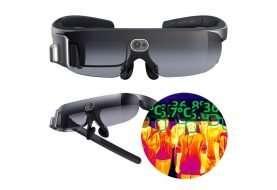Rokid Glass, el lente de realidad virtual para medir temperatura