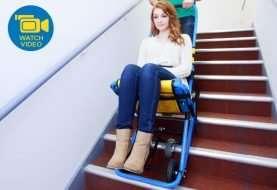 Evac Chair 300 H, una silla especial para salidas de emergencia