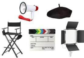 5 productos que debes tener para ser todo un director de cine