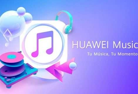 Huawei Music, la galería musical de la marca