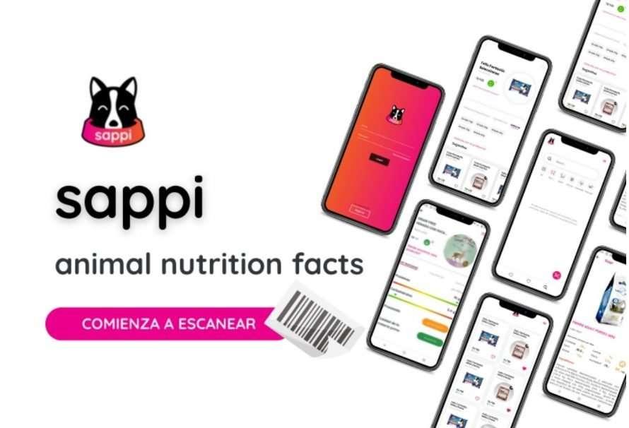 Sappi App, la app que mejora la alimentación de las mascotas