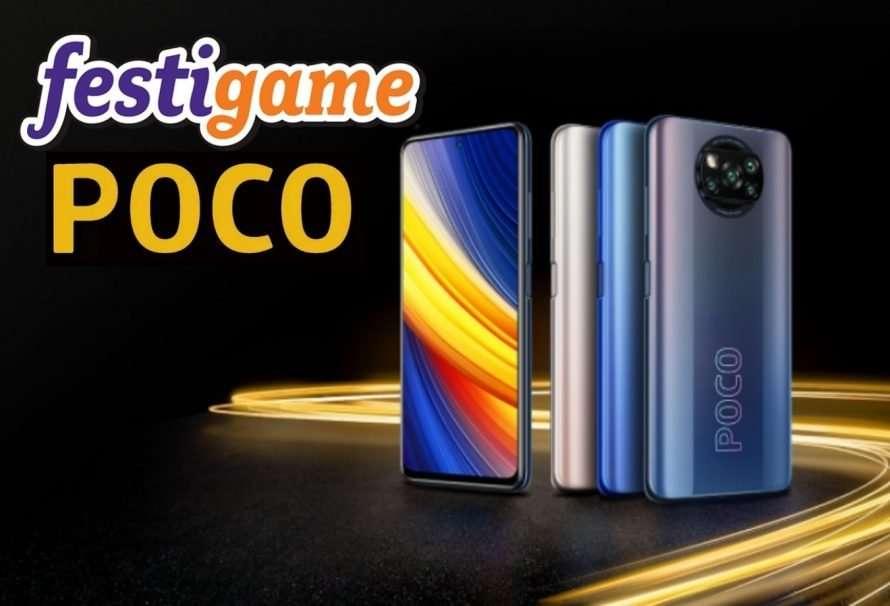 POCO estará presente en FestiGame 2021 como patrocinador