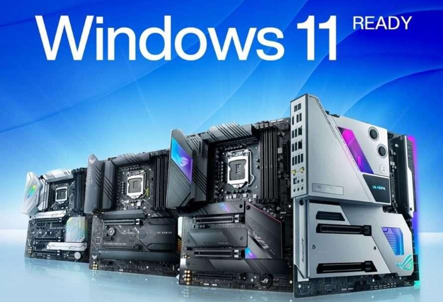 ASUS anuncia un soporte de placas base para Windows 11