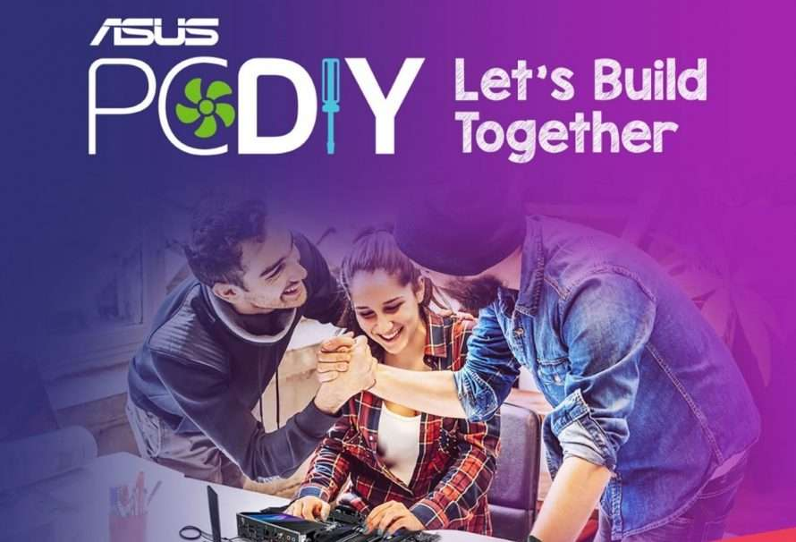 Let's Build Together PC DIY, la nueva campaña de ASUS