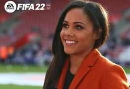 Alex Scott, la primera mujer comentarista en EA SPORTS FIFA