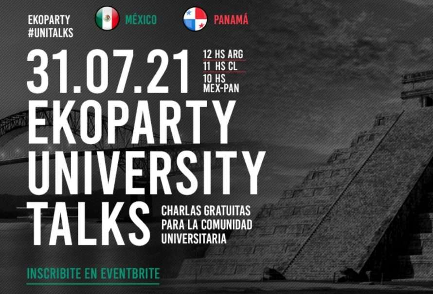 Ekoparty Unitalks, el evento de ciberseguridad