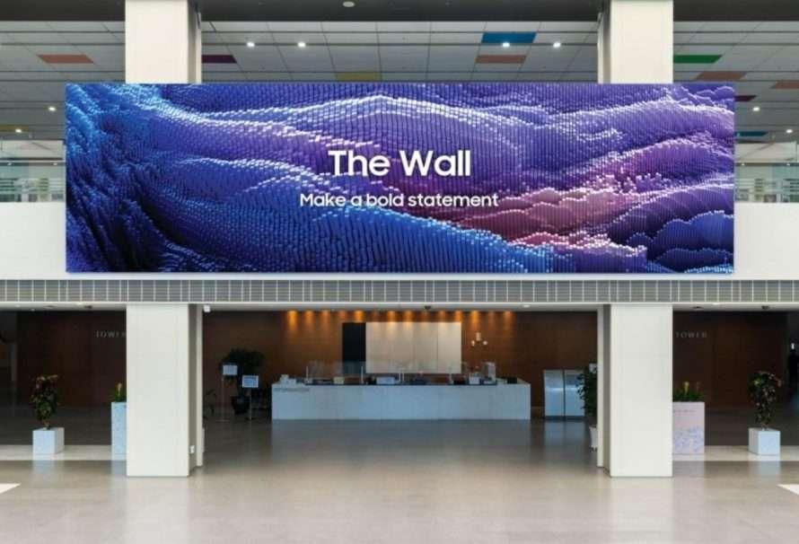 The Wall 2021 de Samsung ya se encuentra disponible