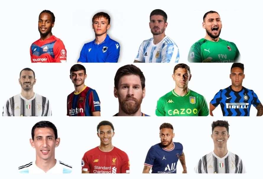 Futbolistas más cotizados luego de la Eurocopa y Copa América
