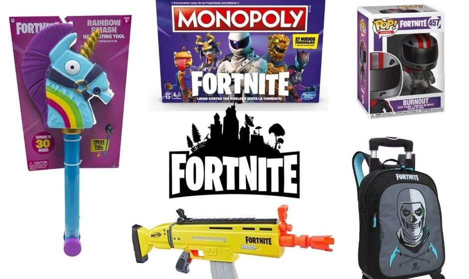 5 productos originales de Fortnite en agosto del 2021